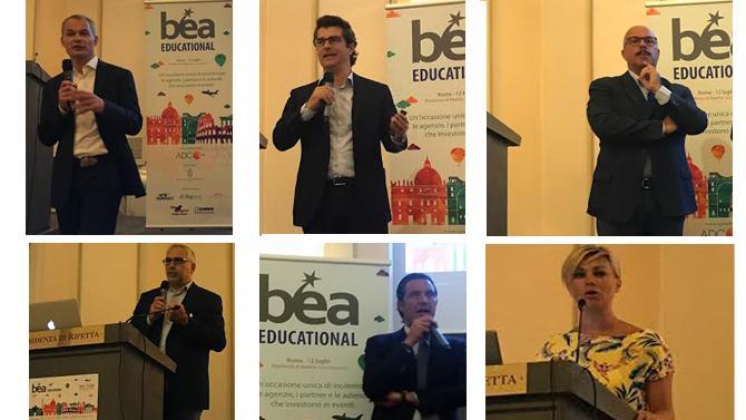 Bea Educational 2017, i player confermano: gli eventi si trasformano, ma l'importante è che se ne parli. Dialogo aperto tra agenzie e aziende