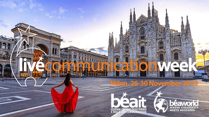 ADC Group lancia la Live Communication Week. Appuntamento a Milano dal 26 al 30 novembre 2019