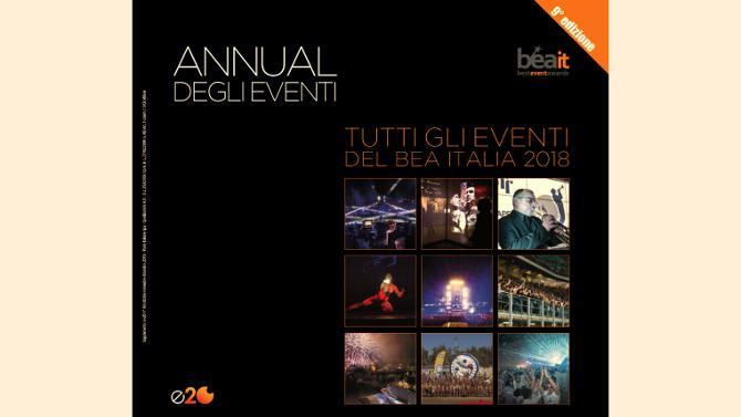 È online l'edizione 2018 dell'Annual degli Eventi, la più completa panoramica sui progetti che hanno caratterizzato il mercato italiano degli eventi e della live communication nel corso dell'ultimo anno