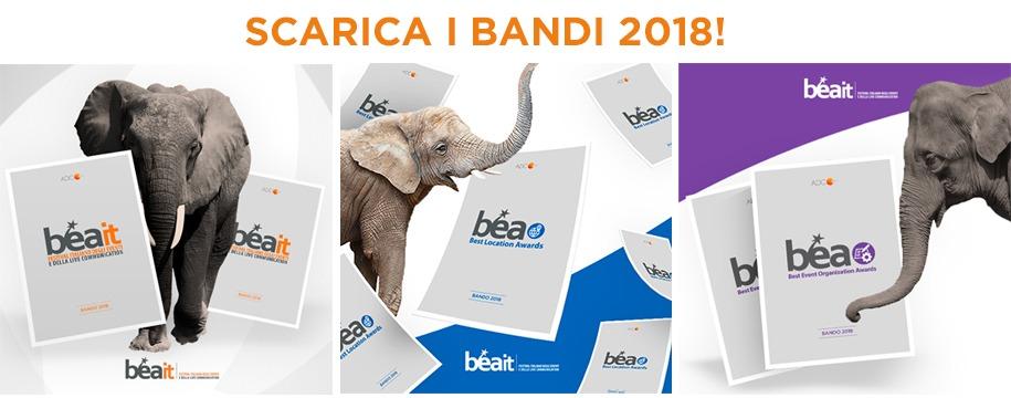 Bea - Best Event Awards, Best Event Organization Awards e Best Location Awards: aperte le iscrizioni alle edizioni 2018. Scarica i bandi