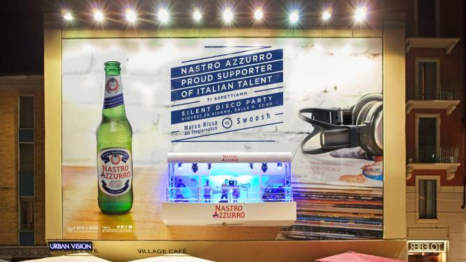 Bea Italia 2017, Addendo e Urban Vision vincono il primo premio nella Categoria Speciale 'Utilizzo Unexpected di uno Spazio' con il 'Silent Disco Party' sostenibile di Nastro Azzurro