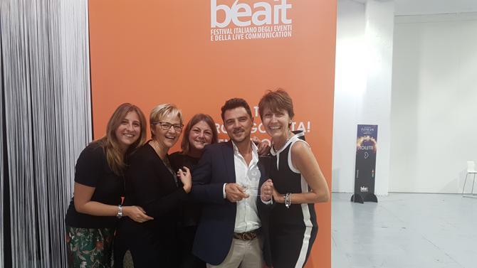 Bea Italia 2017, a Gruppo Gattinoni il bronzo 'Evento B2I' grazie a 'Bimby nella città di Gaudì', firmato per Vorwerk Contempora